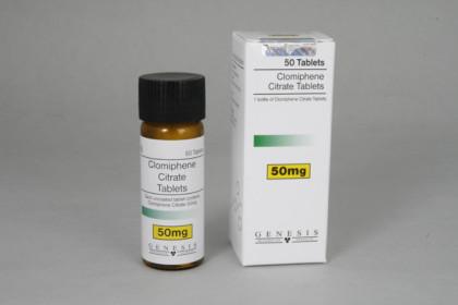 Clomifen citrat Genesis 50mg (50 tab)