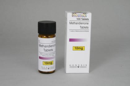 Methandienone tabletter 10mg (100 tab)